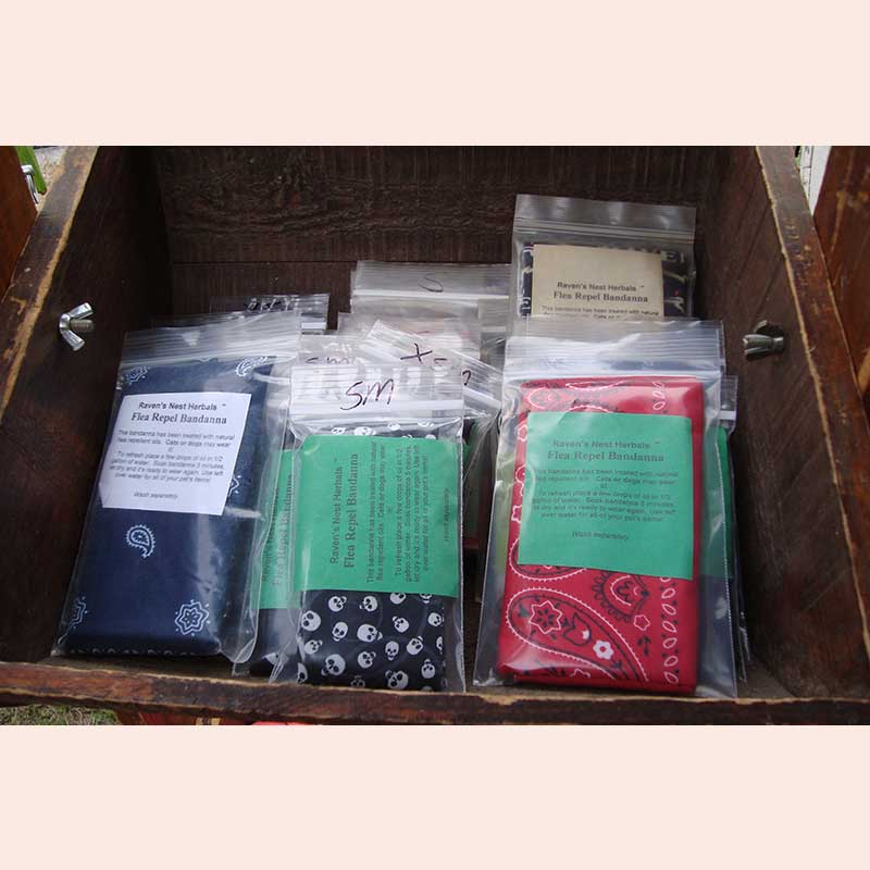 Flax seed cold and hot bags by Ravensnest Herbals