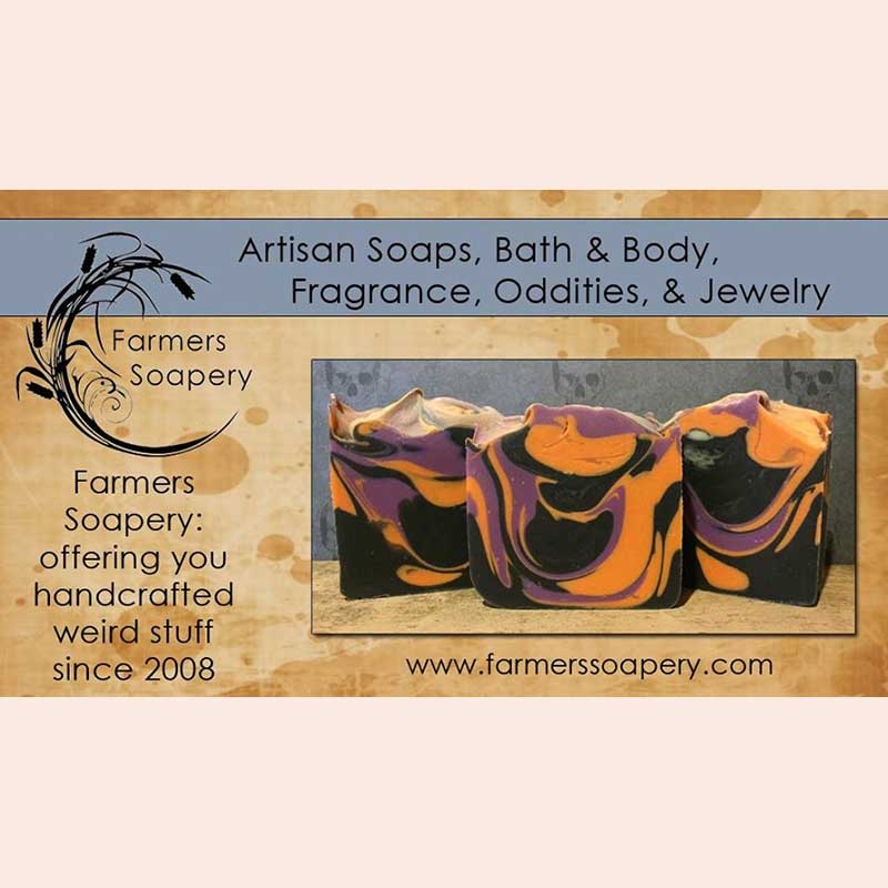 Artisan soap with the Farmer's Soapery