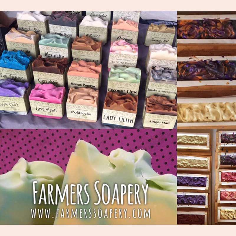 Handmade Soaps with the Farmer's Soapery
