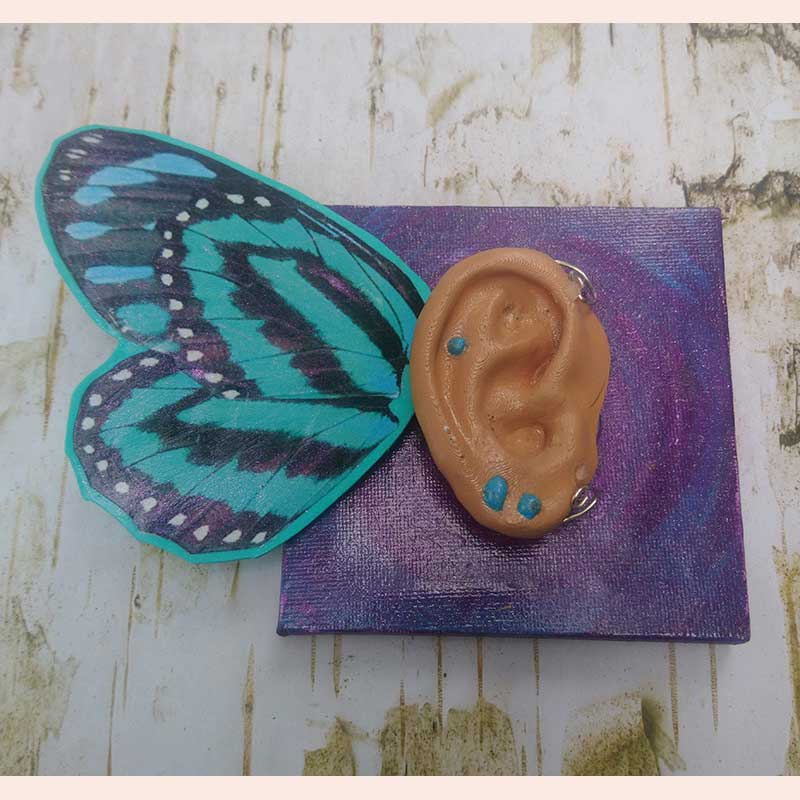 Butterfly Ear by Lily's Dragon Nest