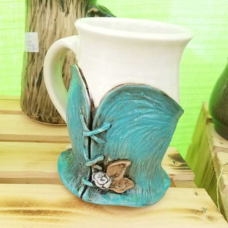 Corset mug by 3 Dandelion Seeds