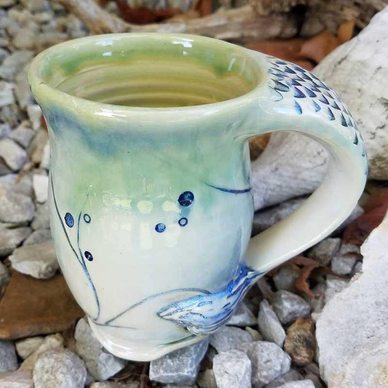 Mermaid cup by 3 Dandelion Seeds