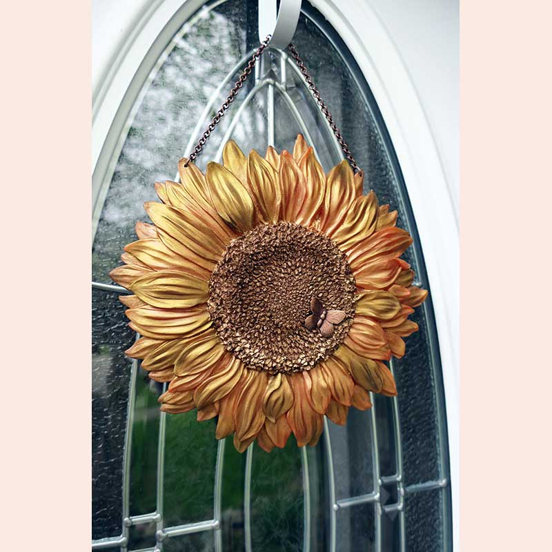 Sunflower Wall Hanging by Autumn Moon