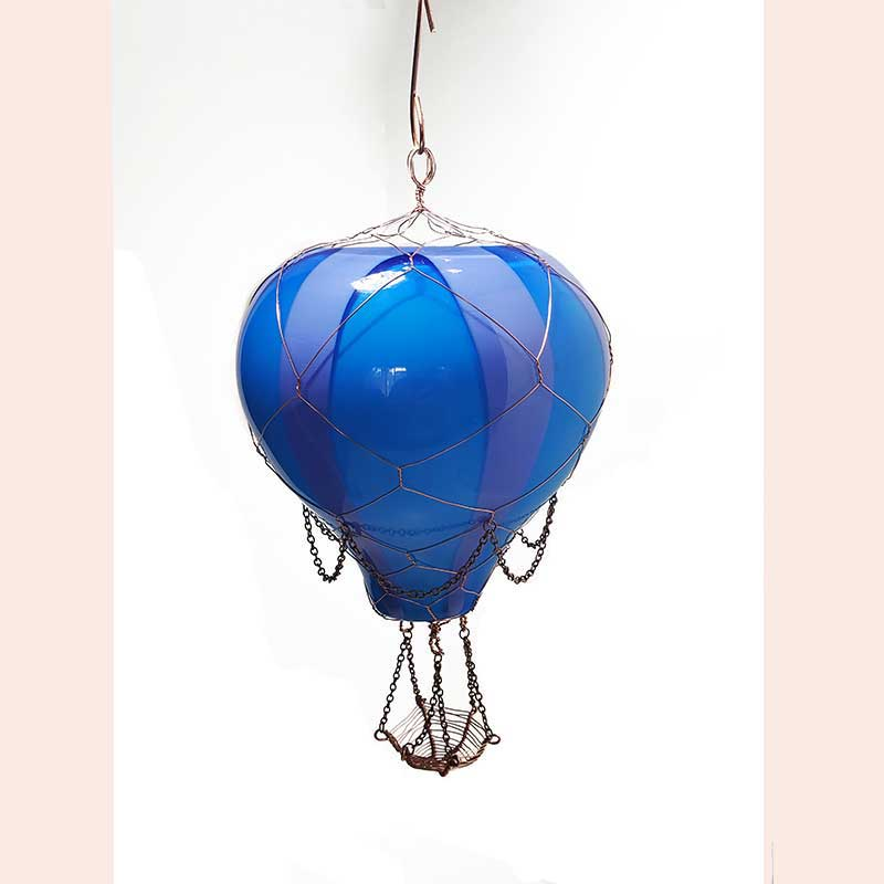 Steampunk Balloon by Manipulations In Wire