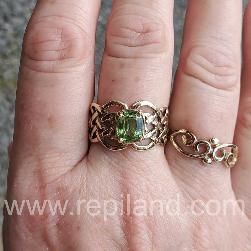 Gold Rings by R.E. Piland Goldsmith