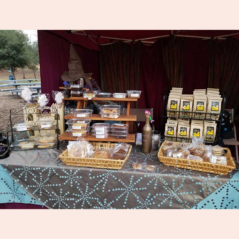 Treats and loose teas by The Tempting Tarts