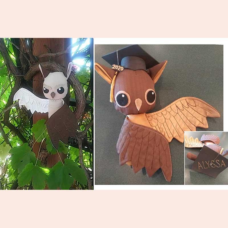 Plush Owls by Flittermouse Handmade