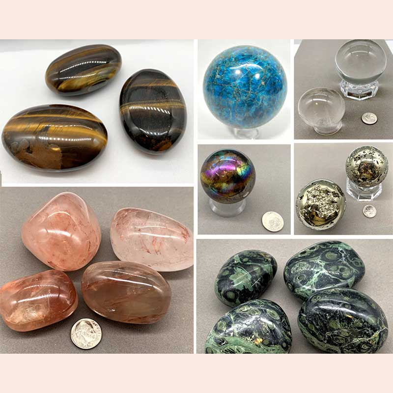 Round Stones by Natural Healing Stones