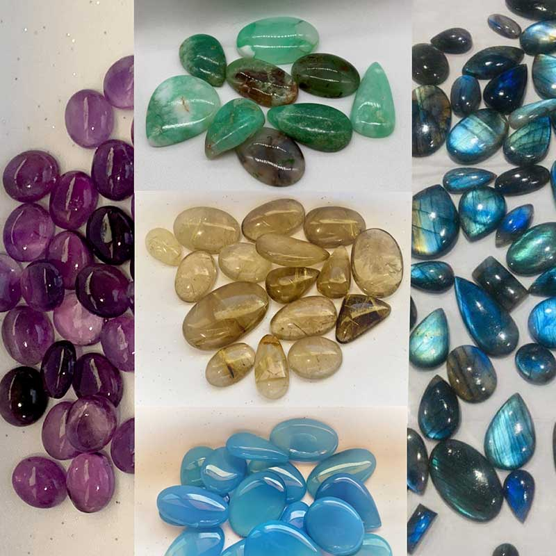 Stone Cabochons by Natural Healing Stones
