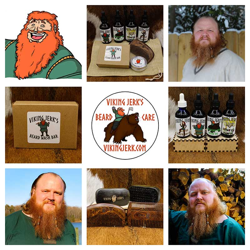 Beard and Hair Care Products by Rigr Crafts