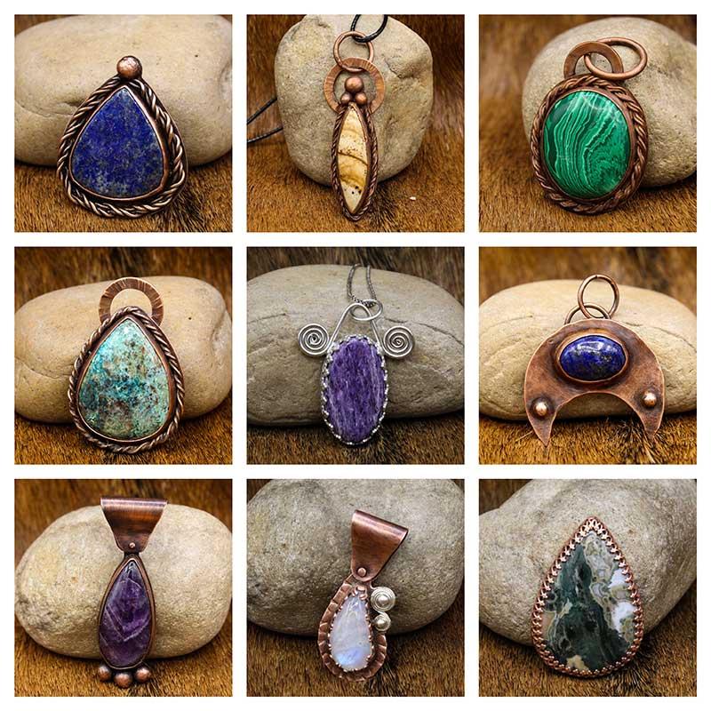 Viking Pendants by Rigr Crafts